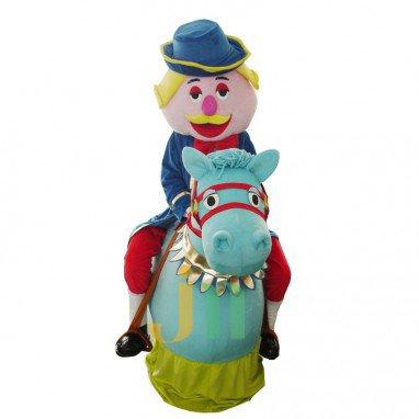 Cartoon Doll Band Horses Walking Doll Cartoon Clothing Sets Winner Band Mascot Costume