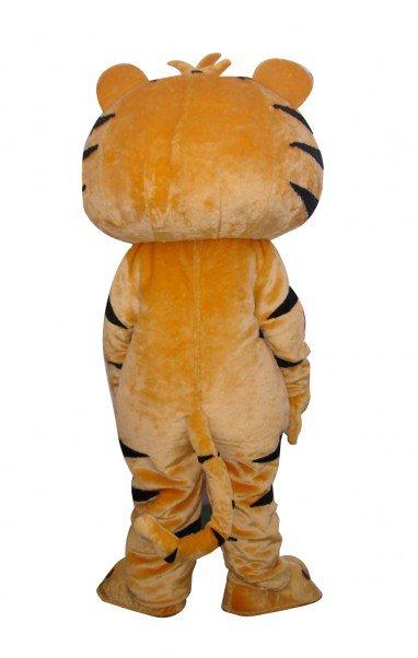 Cartoon Long-haired Tiger Doll Cartoon Walking Doll Clothing Hedging Long-haired Tiger Mascot Costume