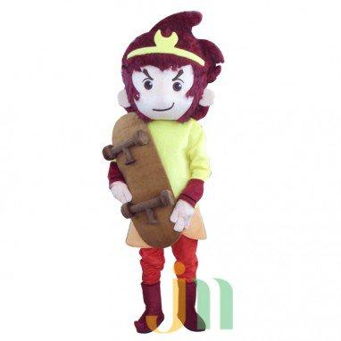 Cartoon Monkey Doll Cartoon Walking Doll Clothing Hedging Monkey Mascot Costume