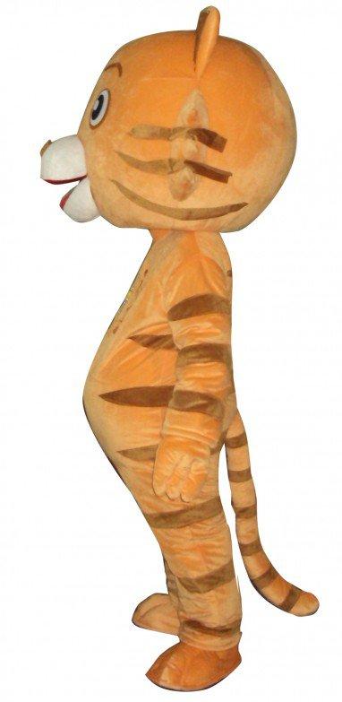 Cincinnati Tiger Doll Cartoon Clothing Cartoon Walking Doll Hedging Cincinnati Tiger Mascot Costume