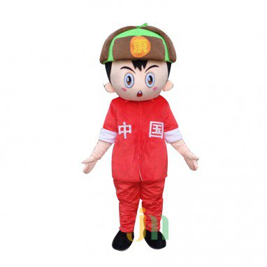 Eastern Cartoon Doll Cartoon Walking Doll Clothing Hedging Stuff Mascot Costume
