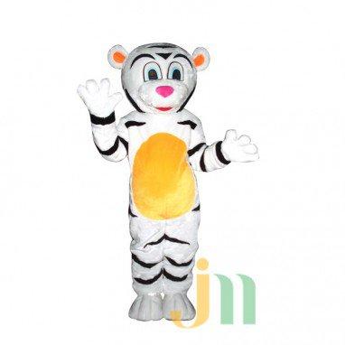 Even Cartoon Tiger Man Walking Doll Cartoon Clothing Sets Head Male White Tiger Mascot Costume