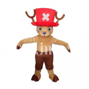 Piece Chopper Doll Cartoon Clothing Cartoon Walking Doll Sets Can Aiqiao Ba Mascot Costume