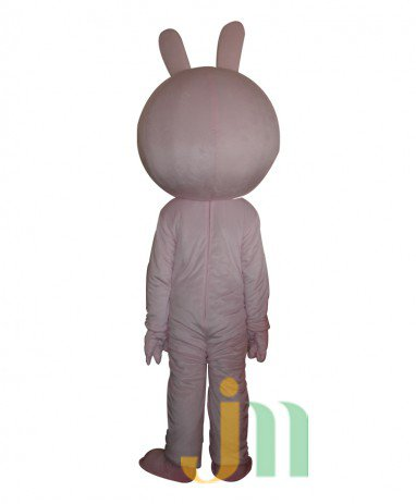 Small Pink Rabbit Cartoon Doll Cartoon Walking Doll Clothing Hedging Little Pink Rabbit Mascot Costume