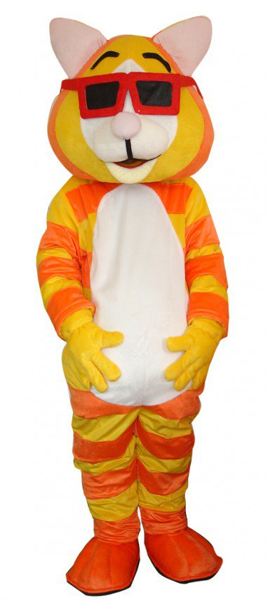Tiger Eye Cartoon Walking Doll Clothing Doll Cartoon Tiger Eye Hedging Mascot Costume
