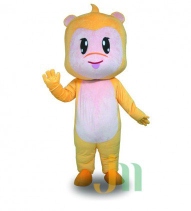Yellow Monkey Cartoon Doll Cartoon Walking Doll Clothing Hedging Yellow Monkey Mascot Costume