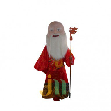 Cartoon Birthday Doll Cartoon Walking Doll Clothing Hedging Longevity Mascot Costume