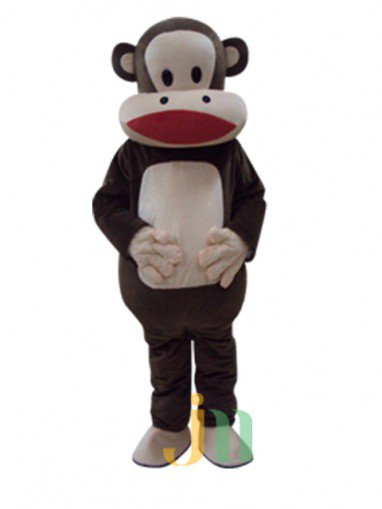 Cartoon Mouth Monkey Doll Cartoon Walking Doll Clothing Hedging Mouth Monkey Mascot Costume