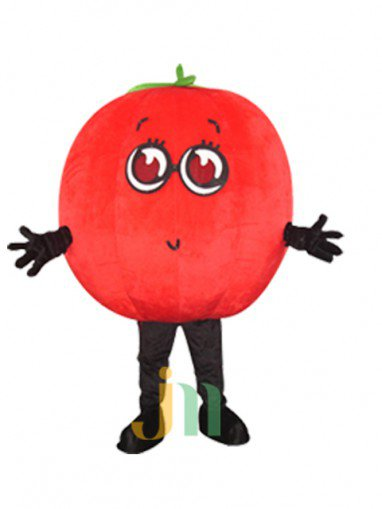 Cartoon Tomatoes Doll Cartoon Walking Doll Clothing Doll Hedging Tomatoes Mascot Costume