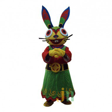 Fortuna Cartoon Rabbit Walking Doll Clothing Doll Cartoon Rabbit Hedging Fortuna Mascot Costume