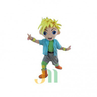 Handsome Cartoon Doll Cartoon Walking Doll Clothing Hedging Handsome Mascot Costume