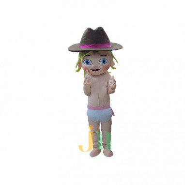 Lily Baby Doll Cartoon Clothing Cartoon Walking Doll Hedging Baby Lily Mascot Costume