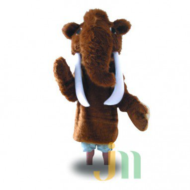 Mammoth Cartoon Doll Cartoon Walking Doll Clothing Hedging Mammoth Mascot Costume