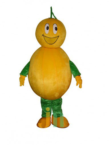 Run Home Orange Cartoon Doll Cartoon Walking Doll Clothing Hedging Mascot Costume