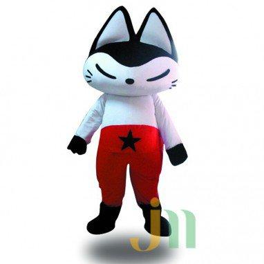 Star Fox Doll Cartoon Clothing Cartoon Walking Doll Hedging Star Fox Mascot Costume