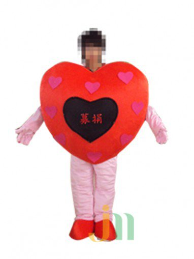 Cartoon Doll Clothing Walking Hedging Loving Mascot Costume Suit Decorative Box Animation Activities