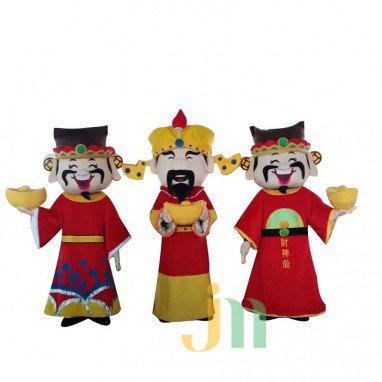 Fortuna Cartoon Doll Cartoon Walking Doll Clothing Hedging Fortuna Mascot Costume