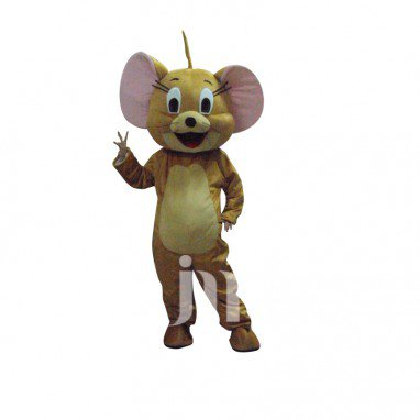 Jerry Cartoon Characters Tom and Jerry Cartoon Dolls Walking Doll Clothing Sets Lovely Jerry Mascot Costume