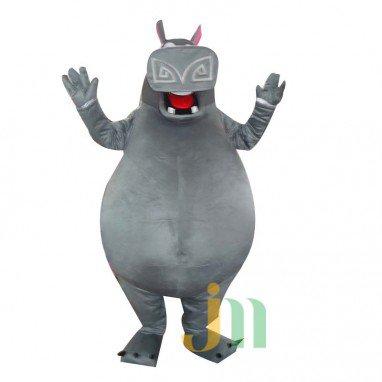 Madagascar Hippo Gloria Doll Cartoon Clothing Cartoon Walking Doll Hedging Hippo Mascot Costume