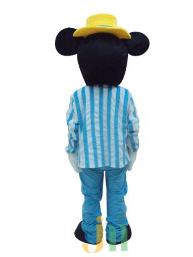 New Navy Mouse Mice Cartoon Doll Cartoon Walking Doll Clothing Hedging Mouse Mice Mascot Costume