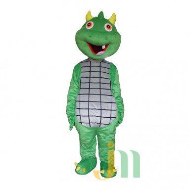 Cartoon Frankenstein Green Snake Even Walking Doll Cartoon Clothing Sets Head Green Snake Strange Mascot Costume
