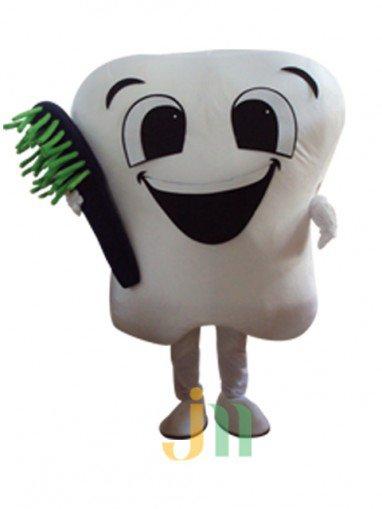 Doll Clothing Cartoon Walking Doll Clothing Set Headband Toothbrush Tooth Cartoon Decoration Activities Mascot Costume