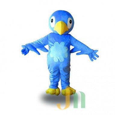 Bluebird Cartoon Doll Cartoon Walking Doll Clothing Hedging Blue Jays Mascot Costume