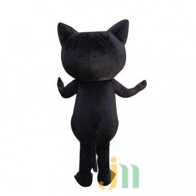 Cartoon Black Cat Walking Doll Clothing Doll Cartoon Cat Dolls Hedging Mascot Costume