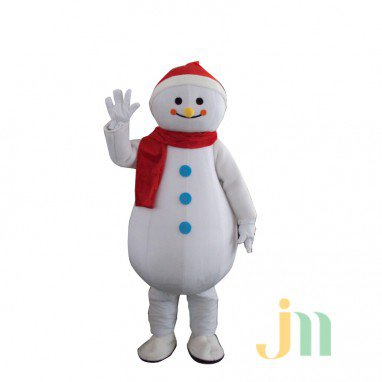 Cartoon Christmas Snowman Doll Cartoon Walking Doll Clothing Hedging Christmas Snowman Mascot Costume