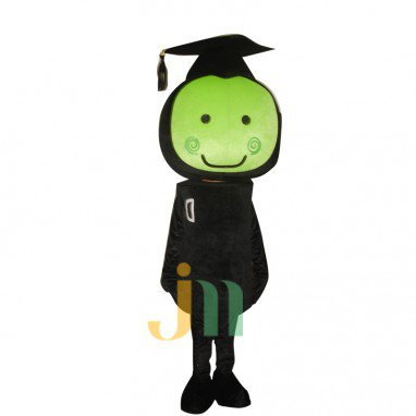 Cartoon Green Head Doll Doll Cartoon Walking Doll Clothing Sets Head Green Head Doll Mascot Costume