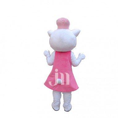 Choi Cute Cartoon Cat Dolls Even Walking Doll Cartoon Clothing Sets Head Cute Cat Doll Mascot Costume