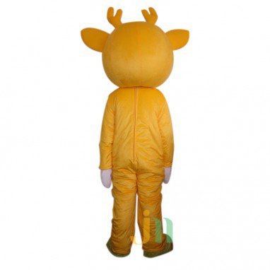 Doll Cartoon Clothing Cartoon Deer Head Deer Walking Doll Sets Mascot Costume
