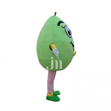 Green Pear Cartoon Doll Cartoon Walking Doll Clothing Sets Green Pear Sheep Mascot Costume
