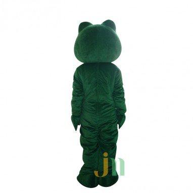 Green Snake Cartoon Doll Cartoon Walking Doll Clothing Hedging Alternative Green Snake Mascot Costume