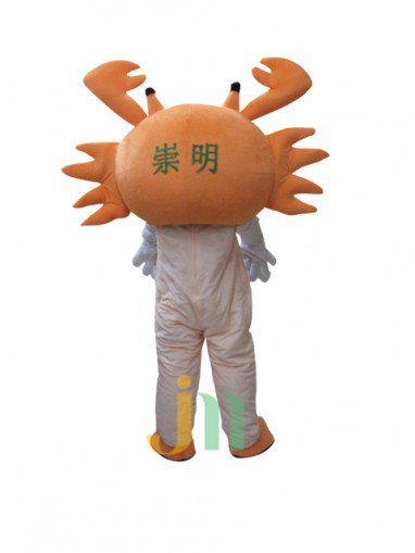 Lovely Cartoon Crab Woman Even Walking Doll Cartoon Clothing Sets Even Crab Woman Mascot Costume