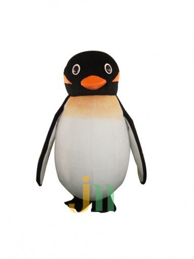 Lovely Cartoon Penguin Fly-hyun Walking Doll Doll Cartoon Clothing Sets Head Penguin Fly-hyun Mascot Costume