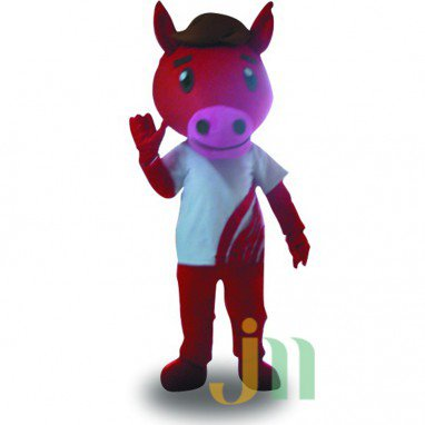 Ma Jian Jian Cartoon Doll Cartoon Walking Doll Clothing Hedging Build Built Horse Mascot Costume