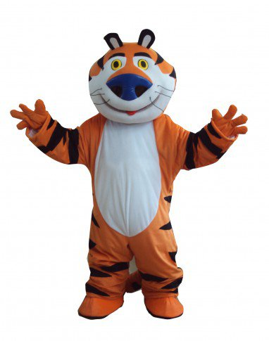 Whiskers Tiger Doll Cartoon Clothing Cartoon Walking Doll Hedging Whiskers Tigers Mascot Costume