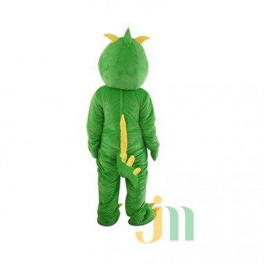 Cartoon Doll Cartoon Dragon Plaid Clothing Walking Doll Hedging Plaid Long Mascot Costume