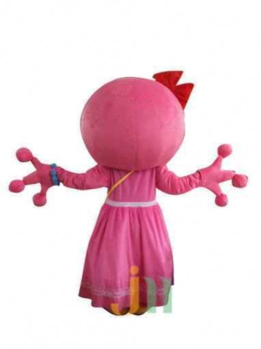 Cartoon Doll Clothing Walking Hedging Mascot Costume Decorative Pink Girl Even Animation Activities