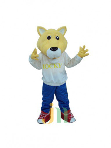 Cartoon Rocket Wolf Even Walking Doll Cartoon Clothing Sets Rocket Wolf Doll Mascot Costume