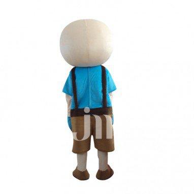 Iraqi Cool Boy Cartoon Cute Doll Cartoon Walking Doll Clothing Hedging Iraqi Cool Boy Mascot Costume