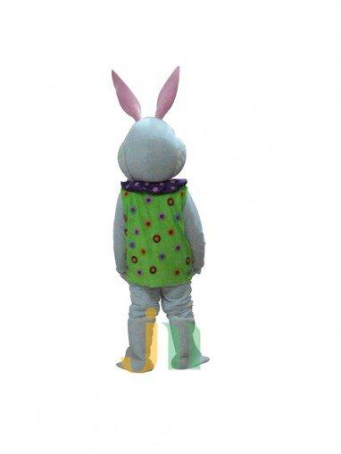 Lovely Flower Cartoon Rabbit Walking Doll Clothing Doll Cartoon Rabbit Doll Flower Hedging Mascot Costume