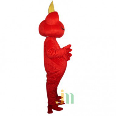 Red Frog Doll Cartoon Clothing Cartoon Walking Doll Hedging Stay Cute Red Frog Mascot Costume