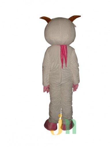 Warm Goat Cartoon Doll Cartoon Walking Doll Sets of Warm Clothing Frankie Doll Mascot Costume
