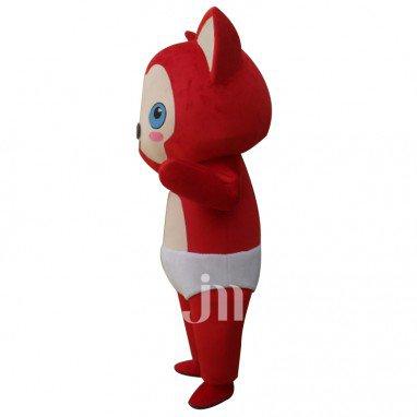 A Raccoon Cartoon Doll Cartoon Walking Doll Clothing Hedging Cute Raccoon Mascot Costume
