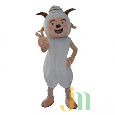 Animation Pleasant Radiant Wolf Doll Cartoon Walking Doll Clothing Hedging Cute Sheep Mascot Mascot Costume