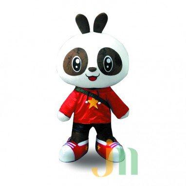 Babu Panda Cartoon Walking Doll Clothing Doll Cartoon Panda Hedging Babu Mascot Costume