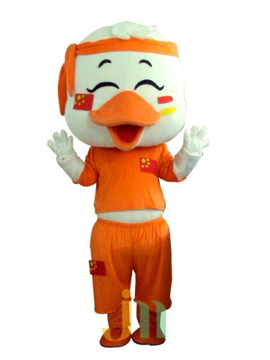 Cartoon Duck Baby Doll Cartoon Walking Doll Clothing Hedging Duck Baby Mascot Costume