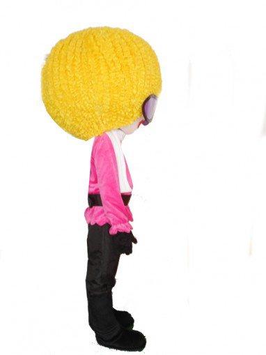 Cartoon Eyes Girl Doll Cartoon Walking Doll Clothing Hedging Eyes Girl Mascot Costume